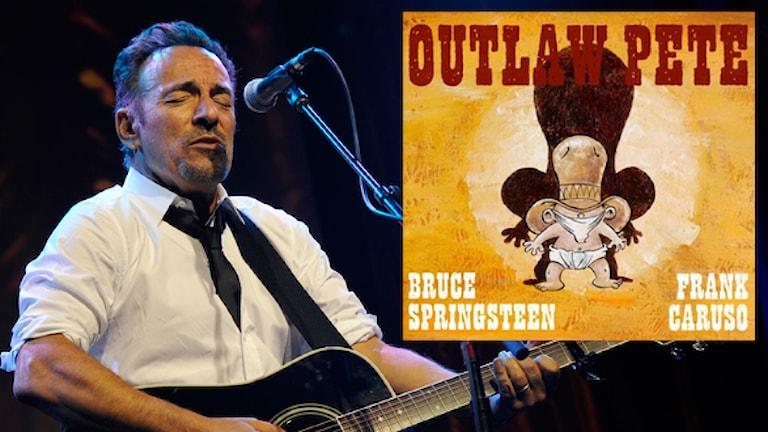 Bruce Springsteen tolkar boken hans mamma brukade läsa. Foto: TT & pressbild