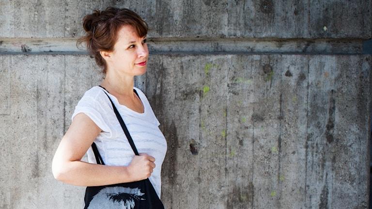 Sara Stridsberg. Foto: Caroline Andersson