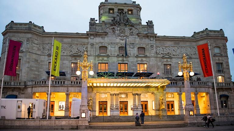 Kungliga dramatiska teatern i Stockholm. Foto: Per Larsson/TT