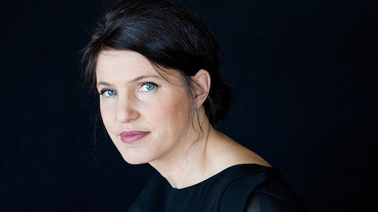 Författaren Kristina Sandberg. Foto: Maria Annas.
