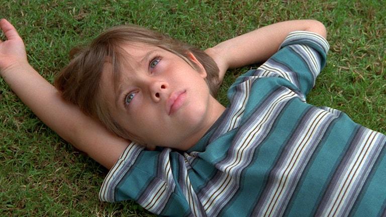 """Ur filmen """"Boyhood"""". Här är huvudrollsinnehavaren Ellar Coltrane 6 år gammal. Foto: AP/TT"""