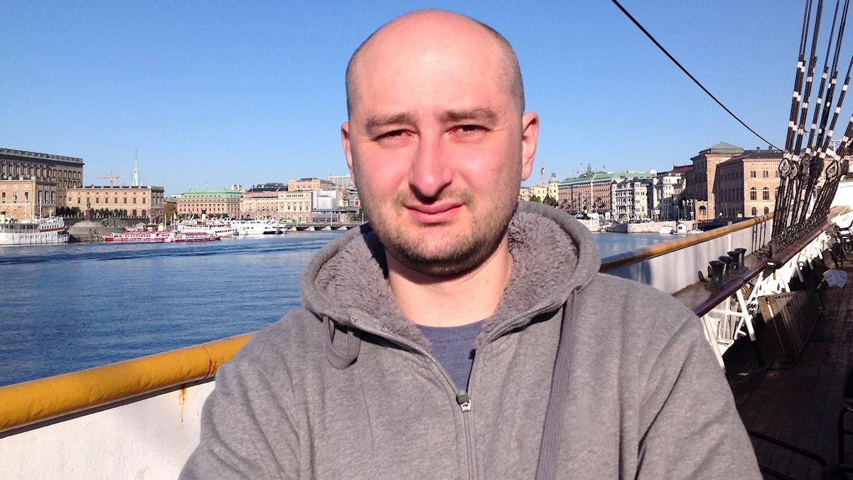 Arkadij Babtjenko. Foto: Fredrik Wadström