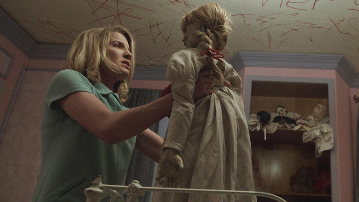"Ur filmen ""Annabelle"". Bilden är beskuren. Foto: Warner bros/AP/TT"