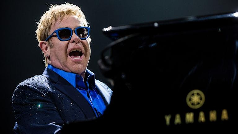 Elton John på turné. Foto: AP/TT