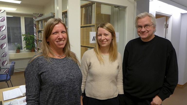 Folkrörelsearkivet,Västerbottens museum och Umeå Stadsarkiv arbetar för en lösning