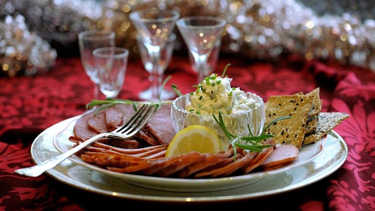 Bilden är inte från föreningens julmiddag. Foto: Janerik Henriksson/TT