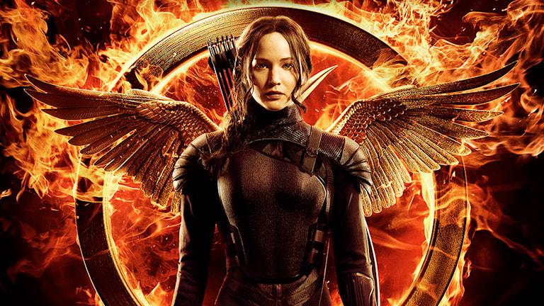 """""""Hunger Games 3: Mockingjay del 1"""" är här. Foto: AP/Universal/TT"""