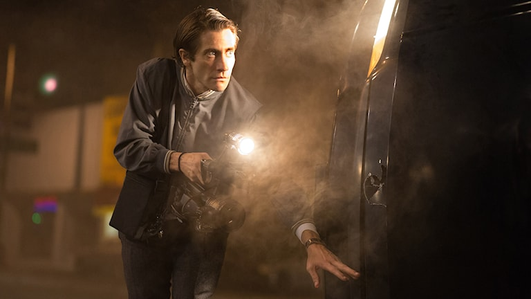 "Jake Gyllenhaal i filmen ""Nightcrawler"". Foto: AP/Open Road Films/TT"