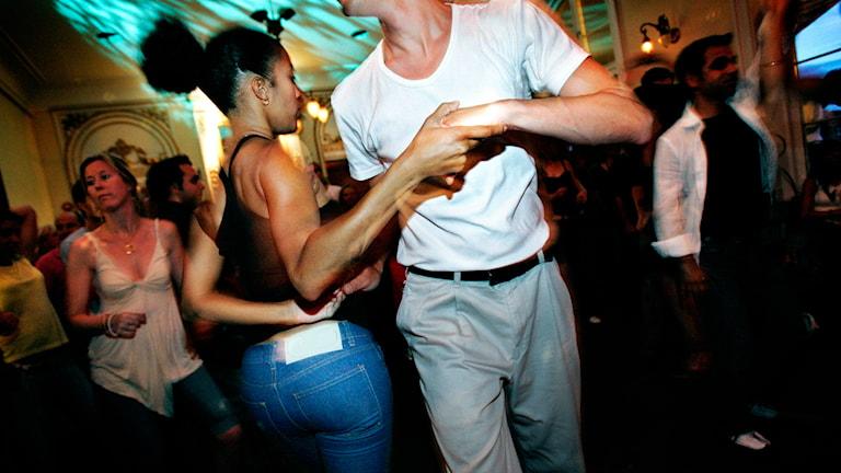 Tanz in einer Kneipe Foto: Åsa Westerlund/TT