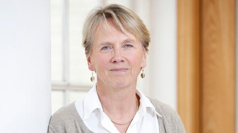Annika Nyberg Frankenhauser på EBU. Foto: Pressbild