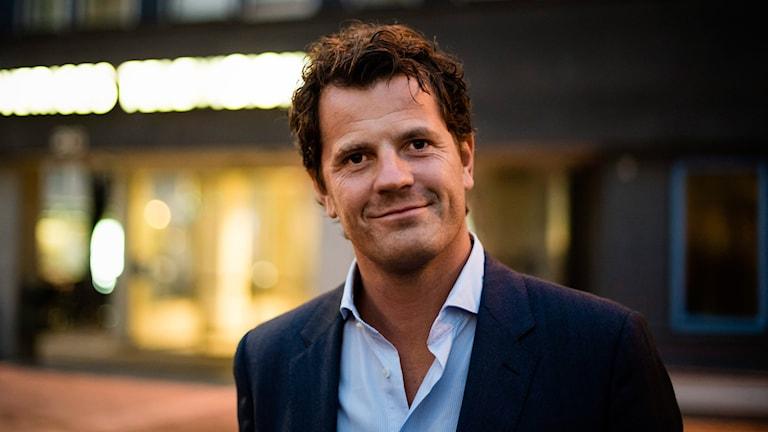 Martin Österdahl. Foto: Vilhelm Stokstad/TT