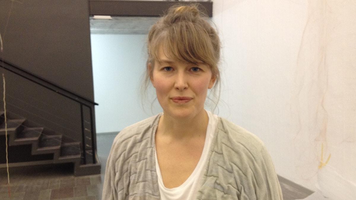 Nina Canell. Foto: David Richter/Sveriges Radio