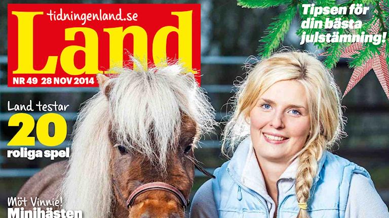 Tidningen Land. Bild: LRF Media