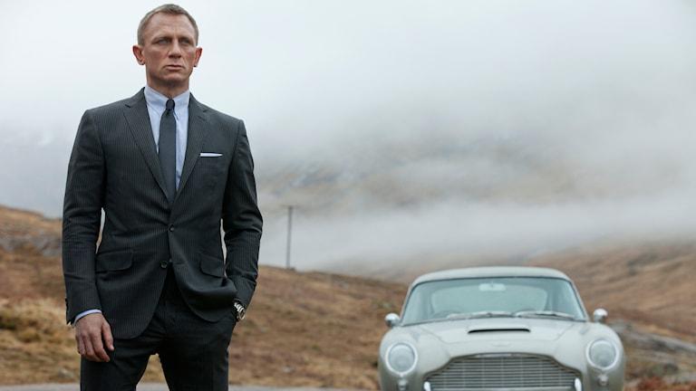 Daniel Craig i rollen som James Bond. Nu kliver han i kostymen igen. Foto: Columbia Pictures/AP/TT