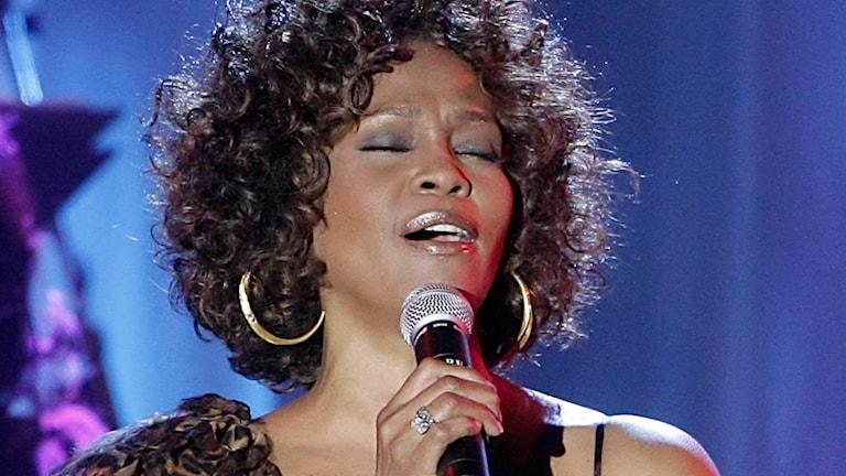 Whitney Houston. Foto: AP/TT