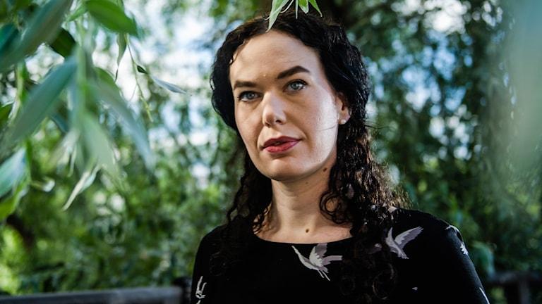 Therese Bohman är nominerad till Romanpriset. Foto: Marc Femenia/TT