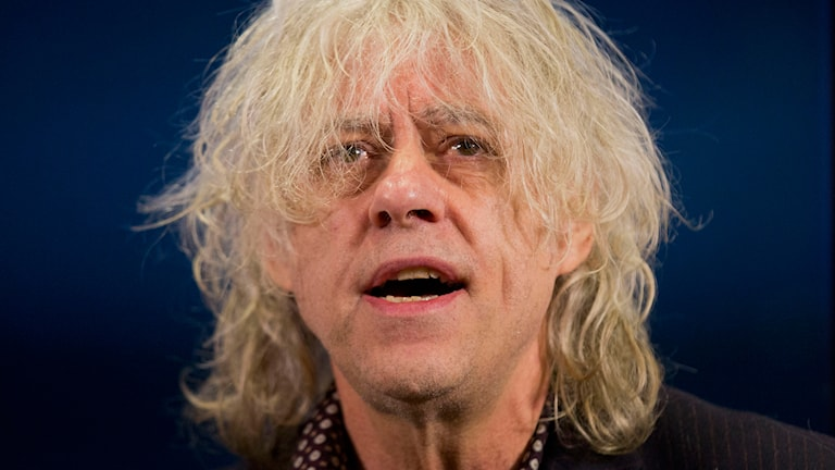 Bob Geldof. Foto: AP/TT