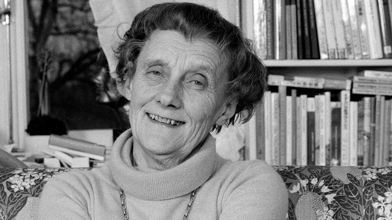 Astrid Lindgren. Foto: Jan Collsiöö/TT