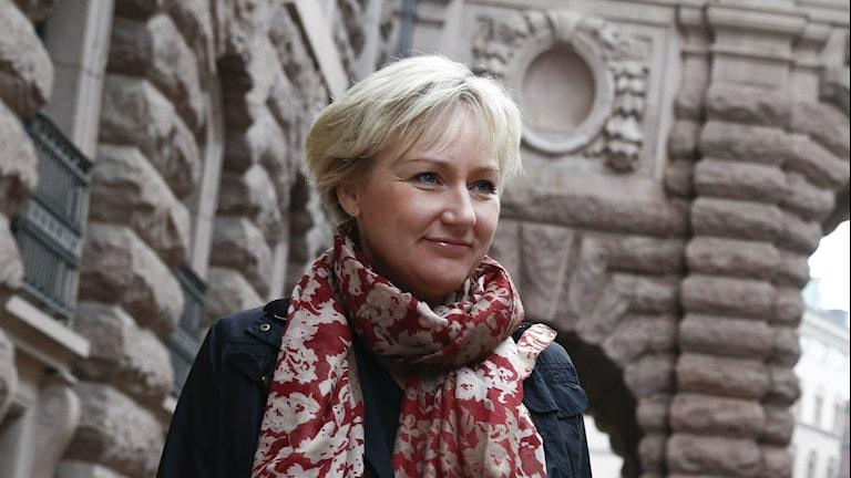 Helene Hellmark Knutsson, minister för högre utbildning. Foto: Fredrik Persson/TT.