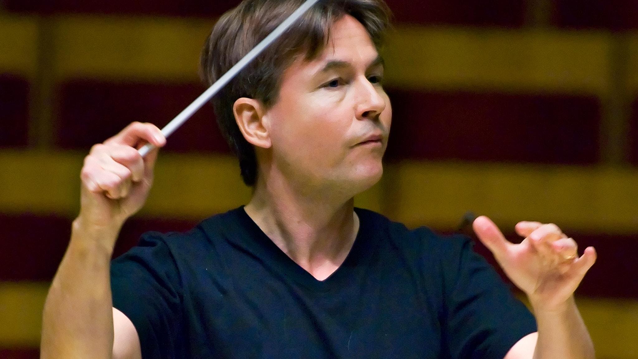 Dirigenten Esa-Pekka Salonen. Foto: Foto: Claudio Bresciani/TT