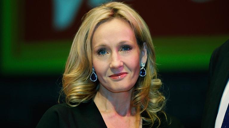 J.K. Rowling. Foto: AP/TT