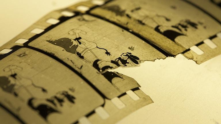 """Empty Socks"" julfilm från 1927, som hittats i Norge. Foto: Nasjonalbiblioteket"