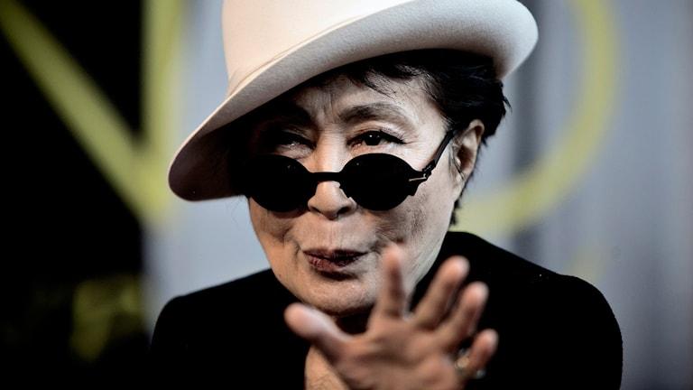 Yoko Ono. Foto: AP/TT