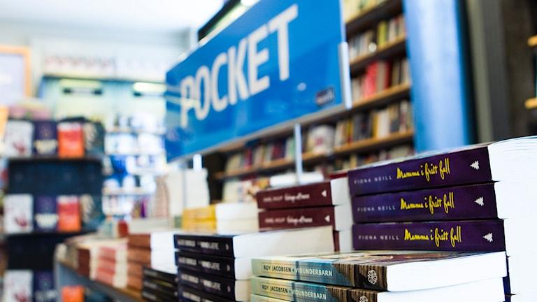 Pocketböcker. Foto: TT