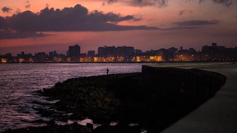 Soluppgång över Havanna, Kuba. Foto: AP/TT