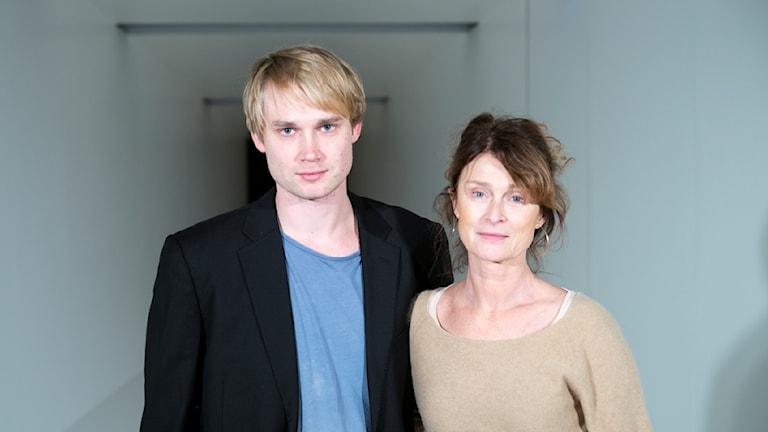 Christoffer Svensson och Lena Endre Foto: Roger Stenberg