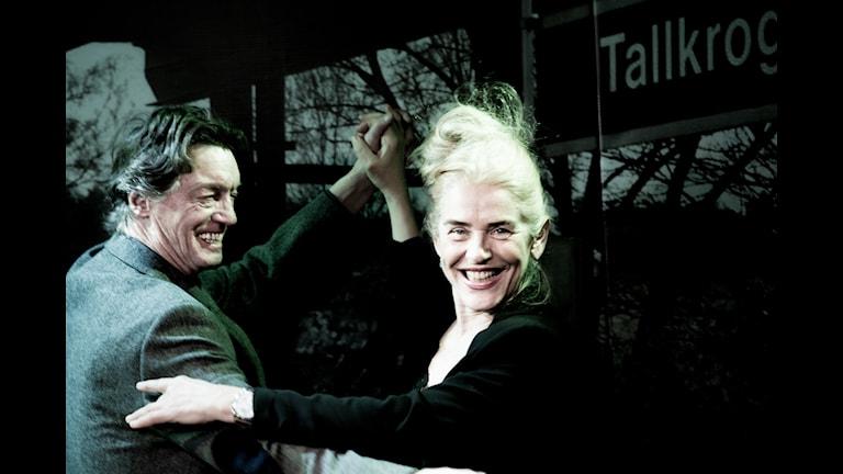 Johannes Brost och Ewa Fröling