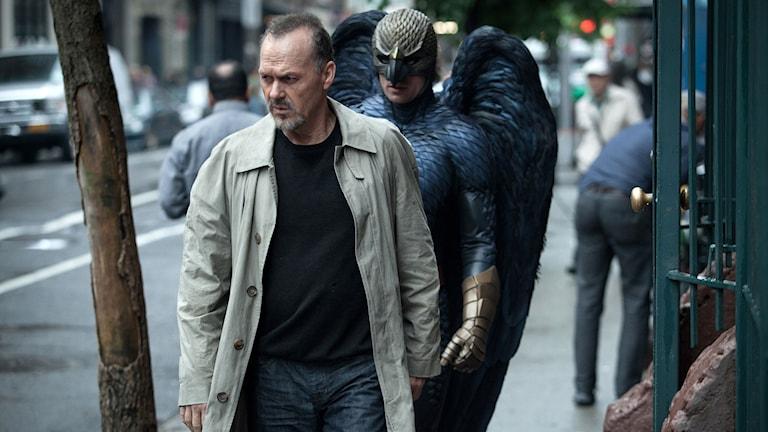Michael Keaton i filmen Birdman. Foto: AP Photo/Fox Searchlight.