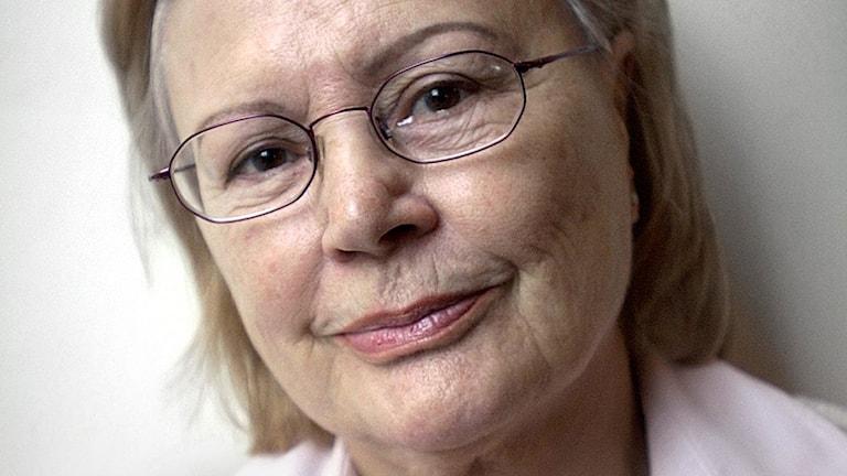 Harriet Andersson, skådespelare. Foto Claudio Bresciani / SCANPIX
