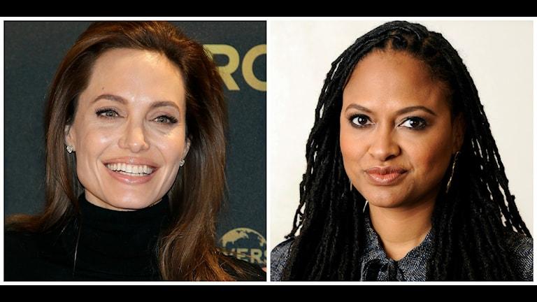 Angelina Jolie och Ava DuVernay är två av de kvinnor som regisserat storfilmer i USA under 2014. Bild: Michael Sohn och Chris Pizzello