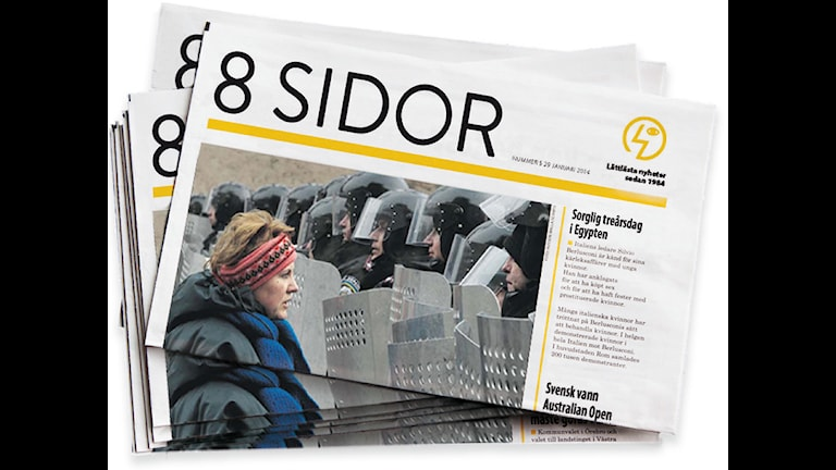 Oro över 8 sidors oberoende, efter att Myndigheten för tillgängliga medier tagit över utgivningen.
