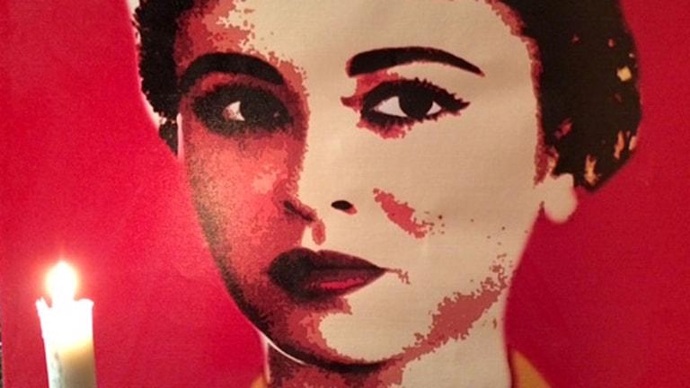 Faten Hamama - Egyptisk films drottning. Foto: Cecilia Uddén/Sveriges Radio