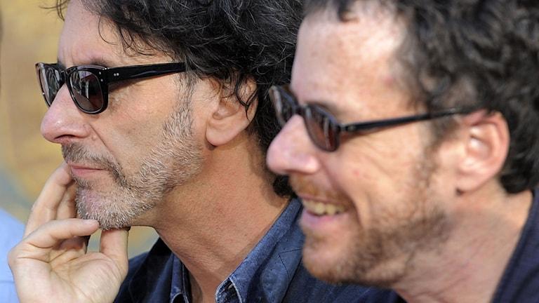 De regisserande bröderna Joel Coen och Ethan Coen. Foto: Chris Pizzello/Invision/AP/TT