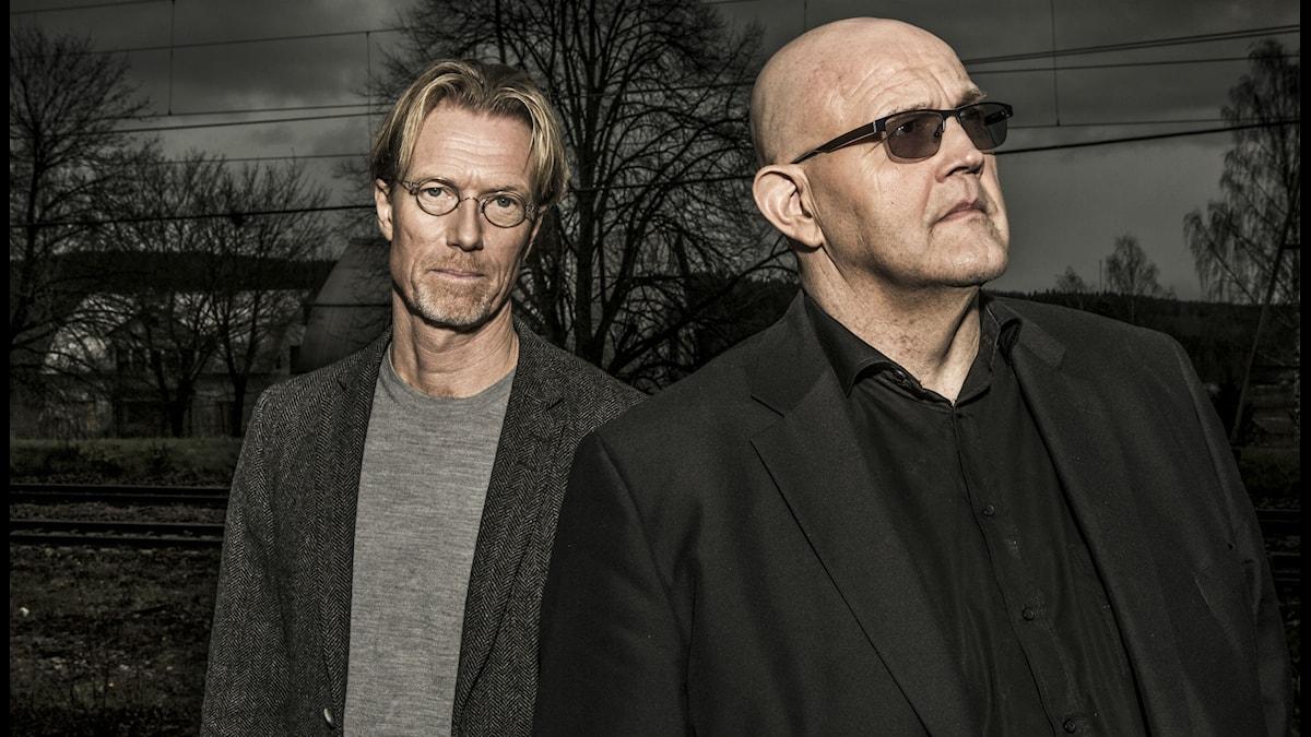 Anders Roslund och Börge Hellström.
