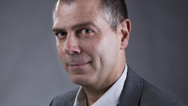 Mattias Berg. Foto: Micke Grönberg/Sveriges Radio