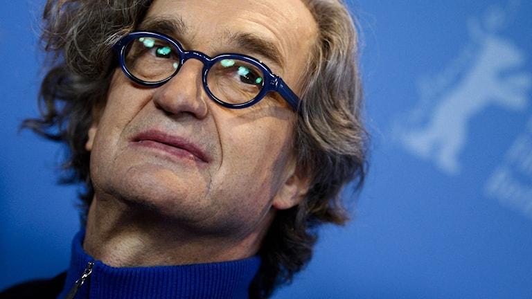 Filmregissören  Wim Wenders. Foto: AP Photo/Markus Schreiber/TT