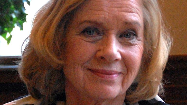 Liv Ullmann gästar Göteborgs filmfestival. Foto: Mia Gerdin/SR