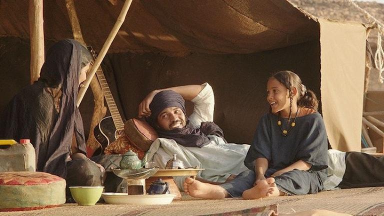 """Filmen """"Timbuktu"""" är inspirerad av när en militant islamistisk grupp tog över Timbuktu i Mali 2012."""