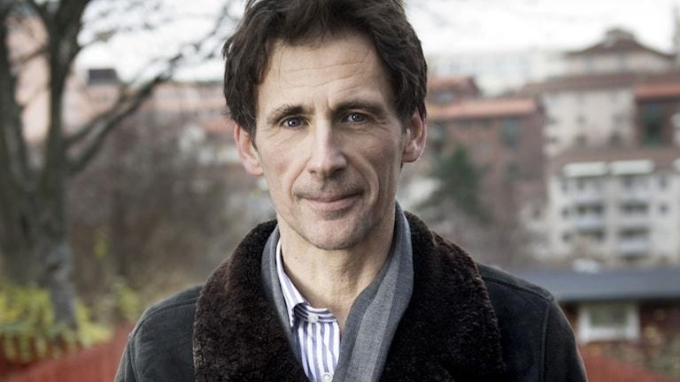 David Lagercrantz, författare. Foto: Malin Hoelstad / SvD / TT