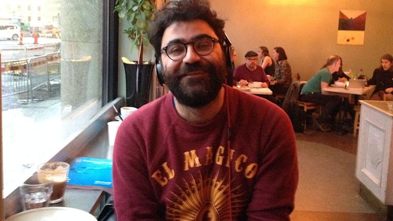 Saman Bakhtiari från Kino på Göteborg filmfestival. Foto: SR