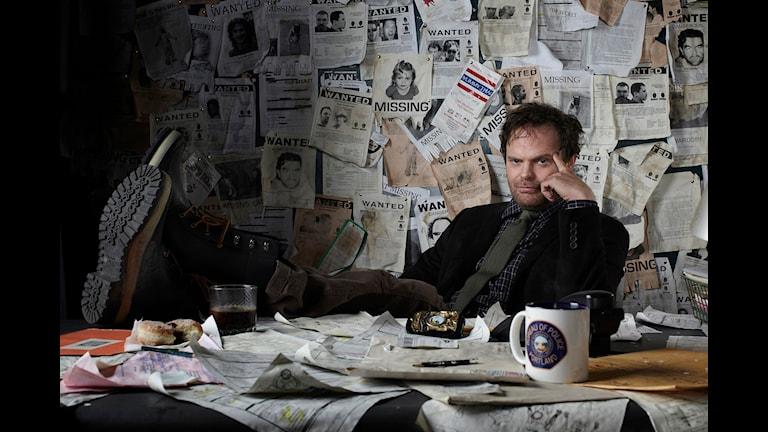 Rainn Wilson som Evert Backstroem. Foto: Pressbild