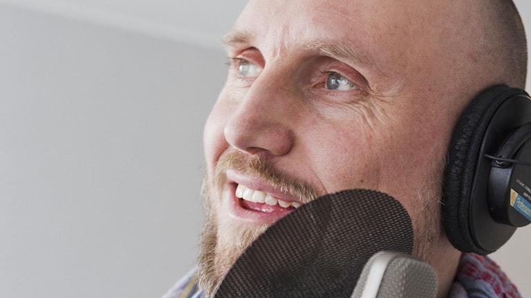 Fritte Fritzson. Foto: Mattias Ahlm/Sveriges Radio