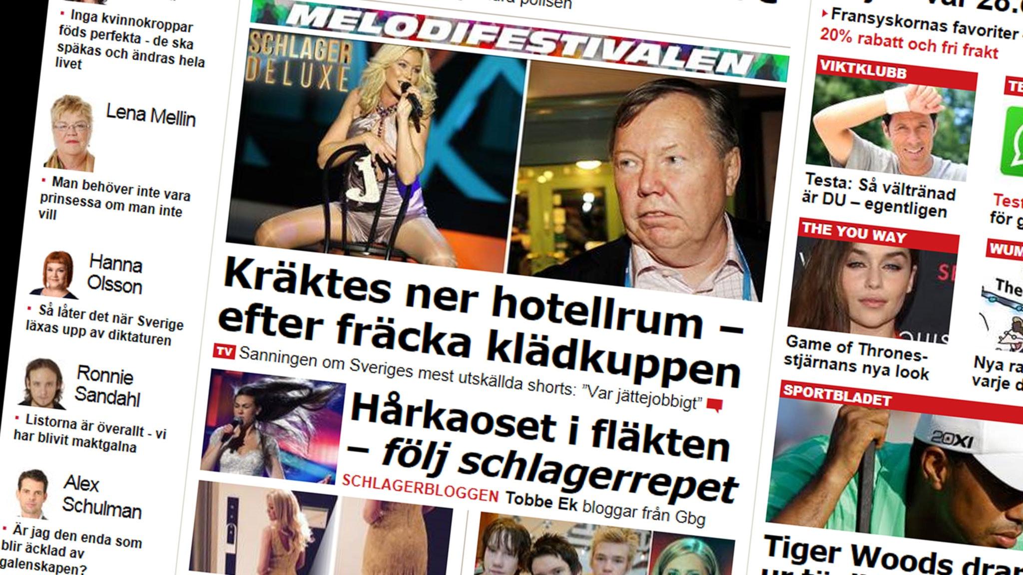 Nojesbladet slar nya rekord pa webben