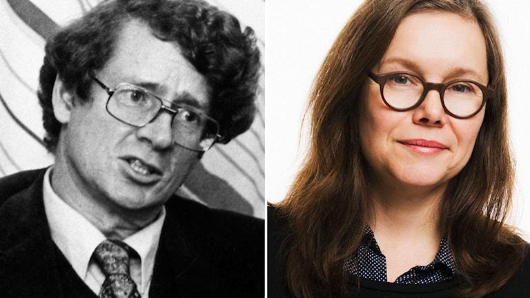 Författaren André Brink är död. Kulturnytts Anneli Dufva minns en viktig författare. Foto: TT / Mattias Ahlm/SR