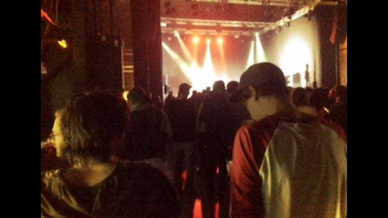 Where's the music-festivalen i Norrköping. Foto: Karin Forsmark/SR.