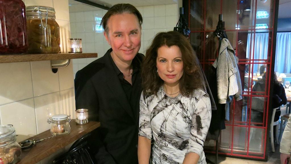 Alexandra och Alexander Ahndoril. Foto: Björn Jansson